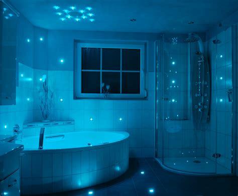 blaue badezimmerideen luxtile