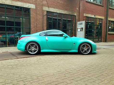 matte teal car i this color matte teal 350z car in 2018
