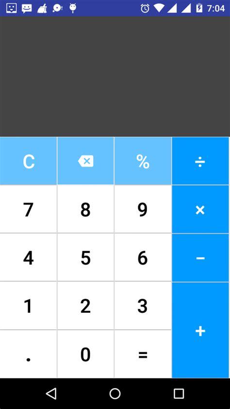 calculator xml tecky tech design of scientific calculator in android
