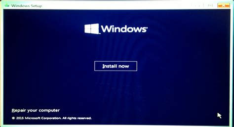 install windows 10 with usb how to install windows 10 from usb screenshot tutorial