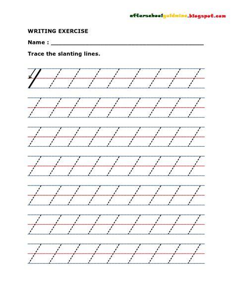 pattern writing slanting lines worksheet line tracing worksheets grass fedjp worksheet