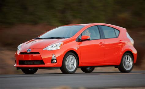 2014 toyota prius c car and driver