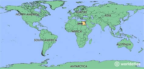 cairo on world map where is where is located in the world