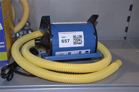 luchtpomp rubberboot luchtpomp bravo type 230 500 voor gebruik r