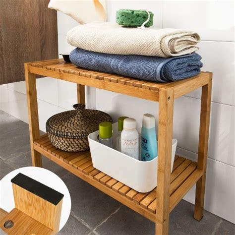 bathroom shoo shelf awardpedia sobuy 100 bamboo bathroom shelf shower