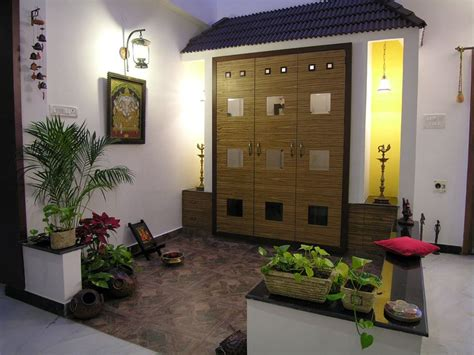 pooja place in living room award winning house of colors in ecr palawakkam