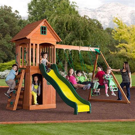 backyard discovery weston cedar set 1000 ideas about cedar swing sets on pinterest swing
