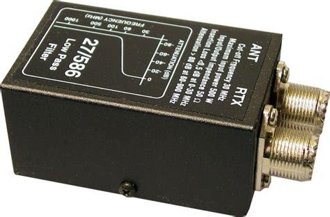high pass filter radio filters
