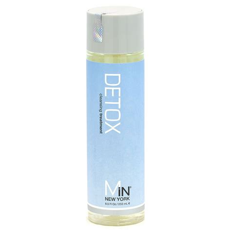 Hair Detox Treatment by Min New York Detox Dht Cleansing Treatment Hair Loss Shoo