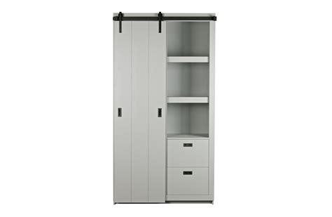 Fsc Cabinets by Slide Barn Cabinet Sawn Pine Concrete Grey Fsc