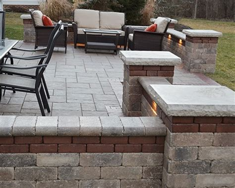 patio paver lights outdoor living outdoor kitchens columbus ohio