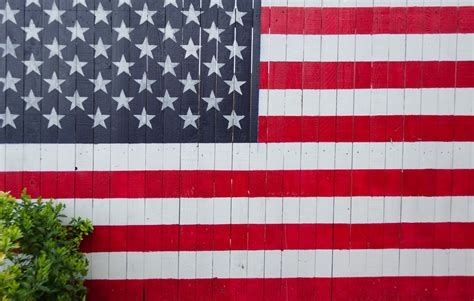 usa flag wall photo  flag image  unsplash