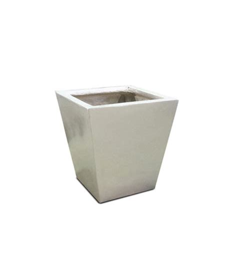 contemporary black square tapered planters now in stock