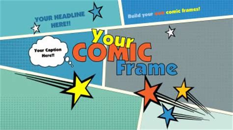 comic powerpoint template your comic frame a powerpoint template from
