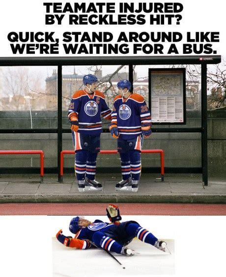 Edmonton Memes - edmonton oiler fans migrating to better hockey hockey heart
