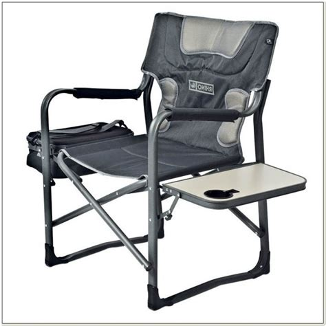 folding chair with canopy and cooler cing chair with built in cooler chairs home