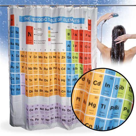 duschvorhang system duschvorhang periodensystem ein muss f 252 r nerds