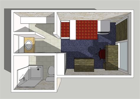 10 x 10 square feet babcock room layout housing residential life