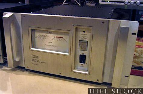 threshold sa  power amplifier audiophile   hifi