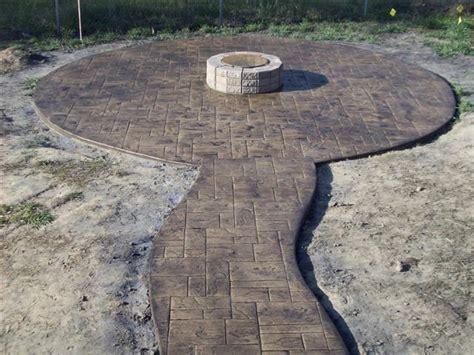 concrete pit pit in sted concrete lawn garden
