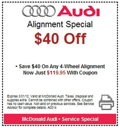 audi coupons for change 31 best images about deals and coupons on