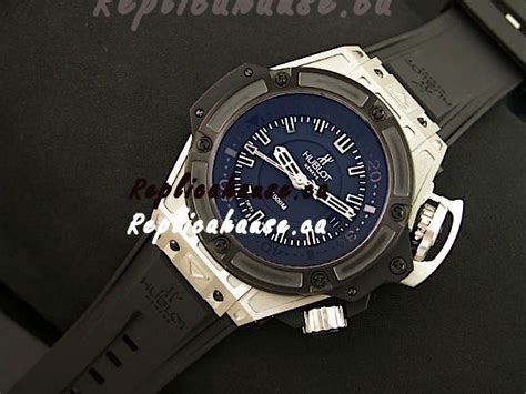 Hublot Swiss Clone hublot king power diver 4000m swiss replica in black shipping from canada for just 299 usd