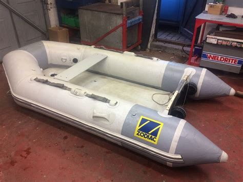 inflatable boats devon zodiac 285 inflatable dinghy no outboard motor in