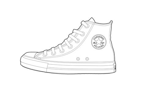 free shoe template coloring pages
