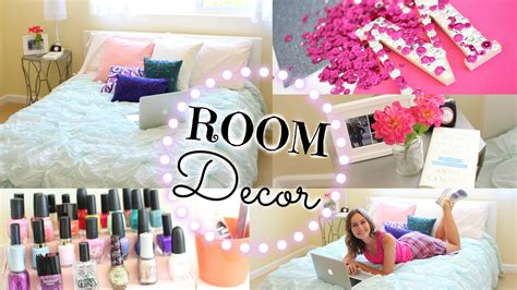 diy decorate your bedroom easy diy ways to re decorate your room youtube