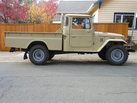 toyota truck diesel hj45 toyota land cruiser truck tan 1977 clean orginal rare