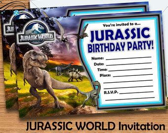 Jurassic Park Birthday Meme - free printable jurassic world invitations google search