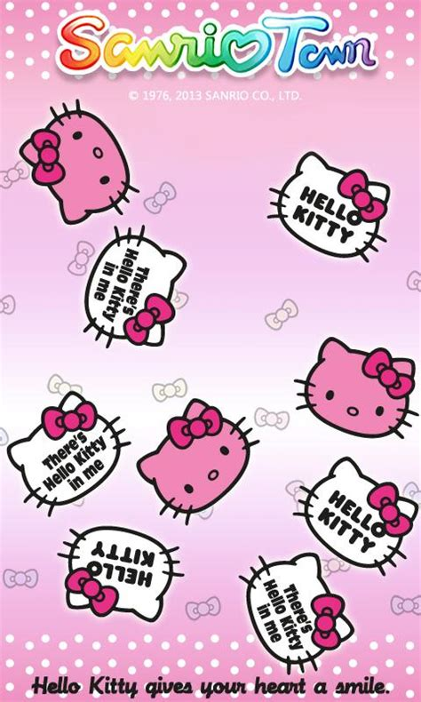 hello kitty town wallpaper sanriotown live wallpaper android apps on google play