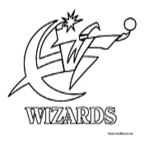 nba wizards coloring pages washington wizards logo coloring page coloring pages