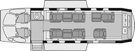 Central Park Floor Plan by Zephyr Jets 651 Pc 12 Executive Floorplan