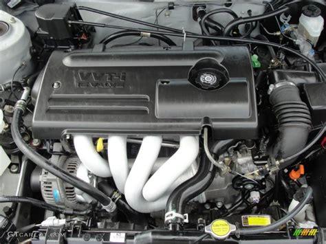 2001 Toyota Corolla Engine 2001 Toyota Corolla S 1 8 Liter Dohc 16 Valve Vvt I 4
