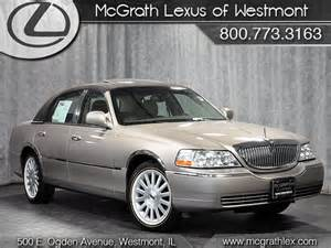 2003 lincoln town car signature westmont illinois