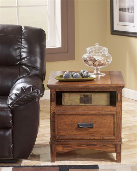 ashley mission recliner signature design by ashley cross island t719 3 mission