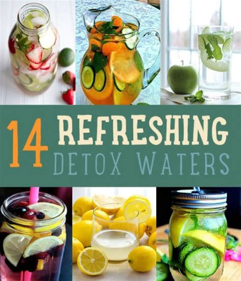 Easy To Make Detox Water by Detox With These Easy To Make Refreshing Detox Waters