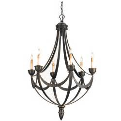 Rod Iron Chandeliers Bronzed Wrought Iron Chandelier