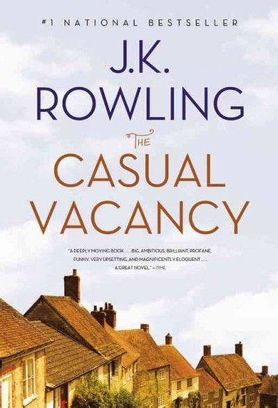 Jk Rowling The Casual Vacancy the casual vacancy by j k rowling books