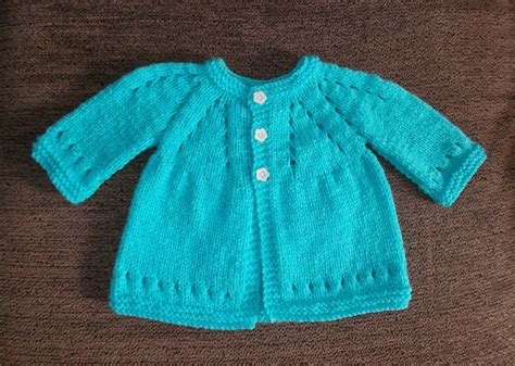 knitting pattern baby jersey sophisticated baby cardigan allfreeknitting com
