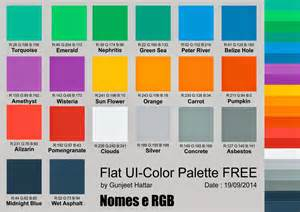 flat color palette coreldraw flat ui color palette free corel na