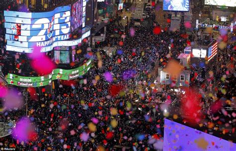 new year celebrations in the us happy new year america times square revelers welcome