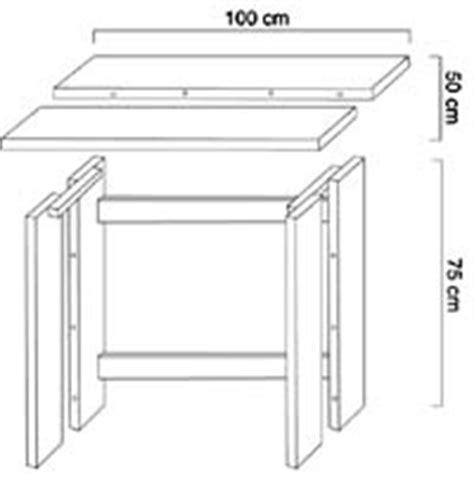 plan pour fabriquer un bureau en bois bureau bois brut esprit cabane idees creatives et