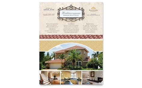 luxury brochure template luxury real estate flyer template design