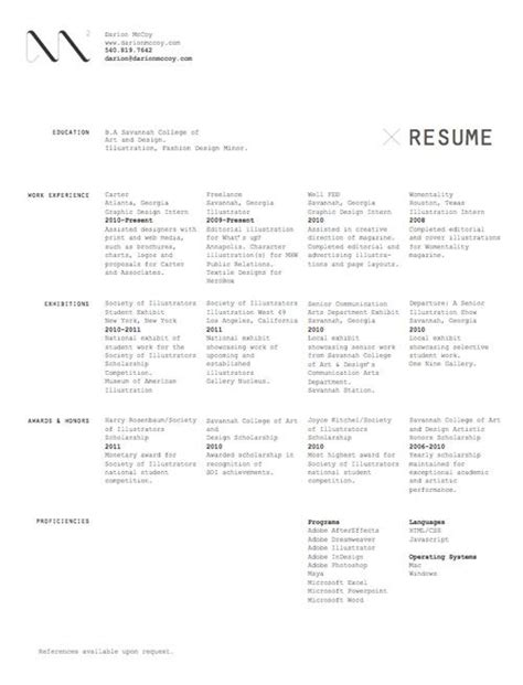 30 great exles of creative cv resume design creative and inspiration