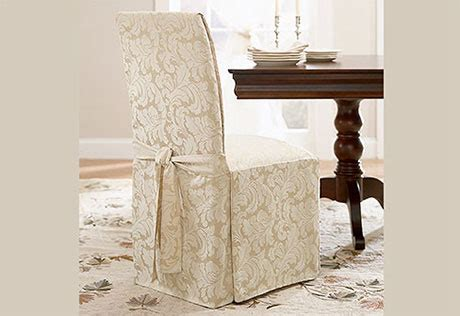 sure fit scroll dining room sure fit scroll dining chair cover