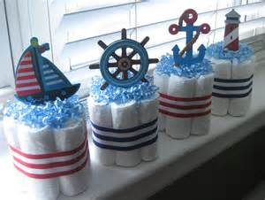 nautical baby showers four nautical mini cakes for baby by