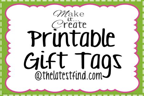 free printable christmas gift tags personalized festival