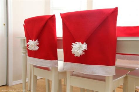 Santa Hat Chair Covers Pattern Home Decoration Ideas For Christmas Dinning How To